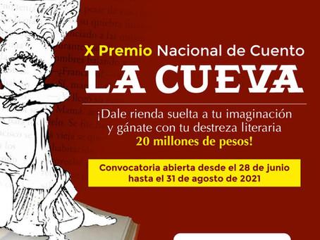 El Premio Nacional de Cuento La Cueva abre convocatoria hasta el 30 de agosto