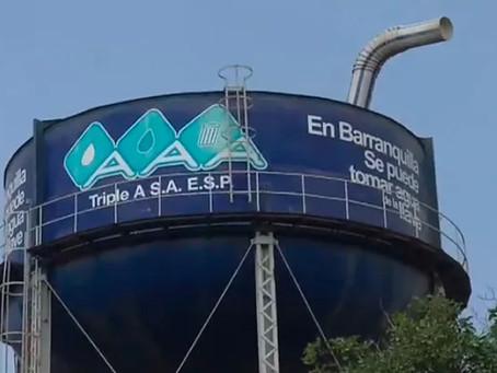 Triple A restablece el agua potable en Barranquilla y Soledad