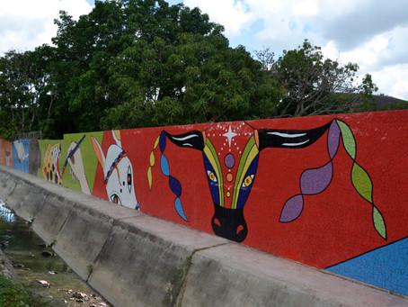Arte urbano, en los municipios del Atlántico