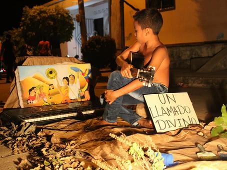 Galeras, Sucre dió inicio su festival de los cuadros vivos