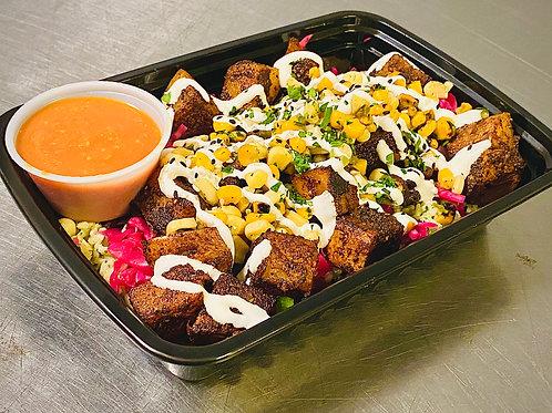 Spicy Potato Taco Bowl