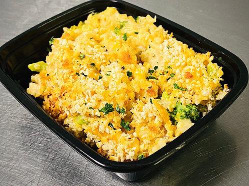 Broccoli Chicken and Brown Rice Casserole