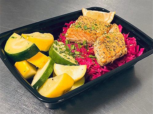Salmon Keto Meal