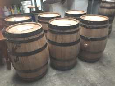 15 Gallon Whiskey Barrels