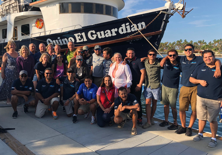 Spectacular Shark Citizen Science Expedition to the Revillagigedo Archipelago 2018