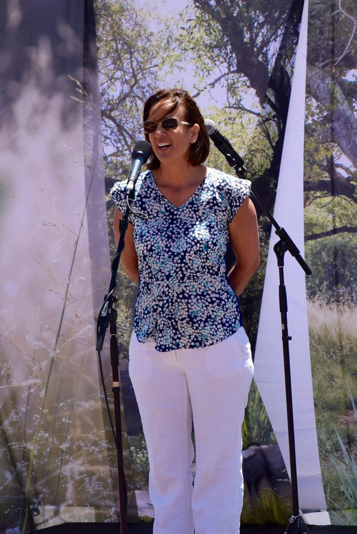 MERITO Foundation's Director speaks at People's Climate March in Santa Barbara