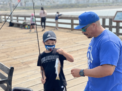 Learning to Fish with Reel Guppy Outdoors