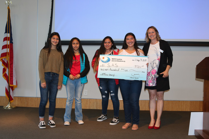 Fifty-nine 5th-12th-grade students were awarded cash and in-kind prizes worth $10,000