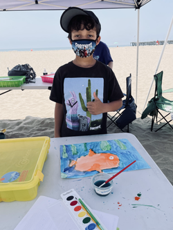 Painting Marine Habitat