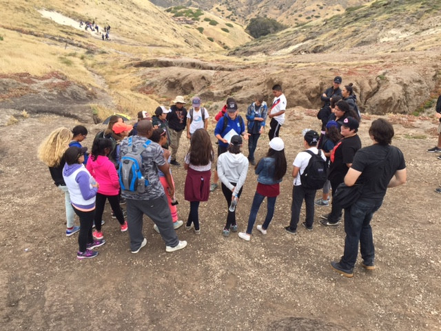 679 students explore the coast and Channel Islands with the MERITO Academy during Spring 2017