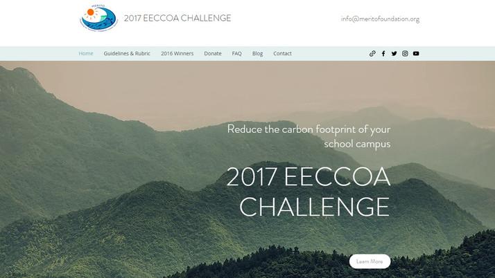 EECCOA Challenge Webpage