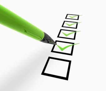 6th Year Weekly Checklist & Study Skills