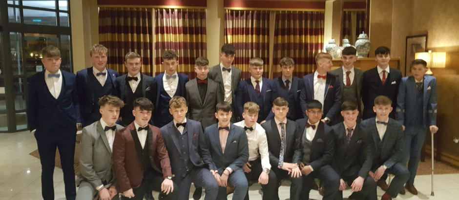 All Ireland team commended