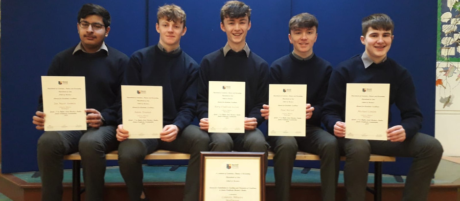 Special Recognition for Business Students