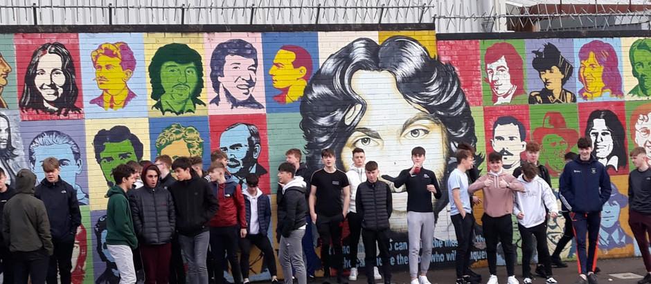TY overnight trip to Belfast.