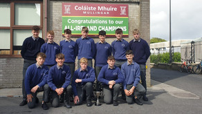 CBS well represented in Westmeath Hurling success.