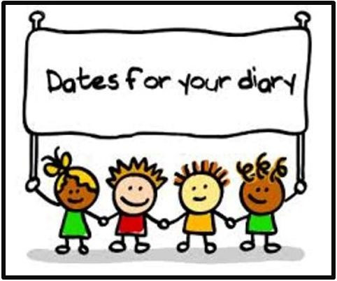 A few dates for your diary.