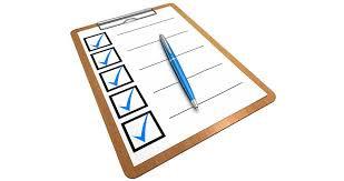 6th Year Weekly Checklist