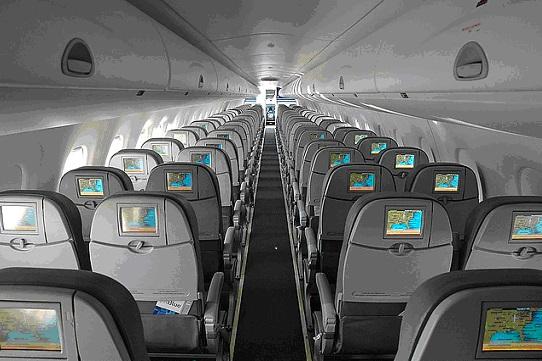 E190 Interior - Front Facing