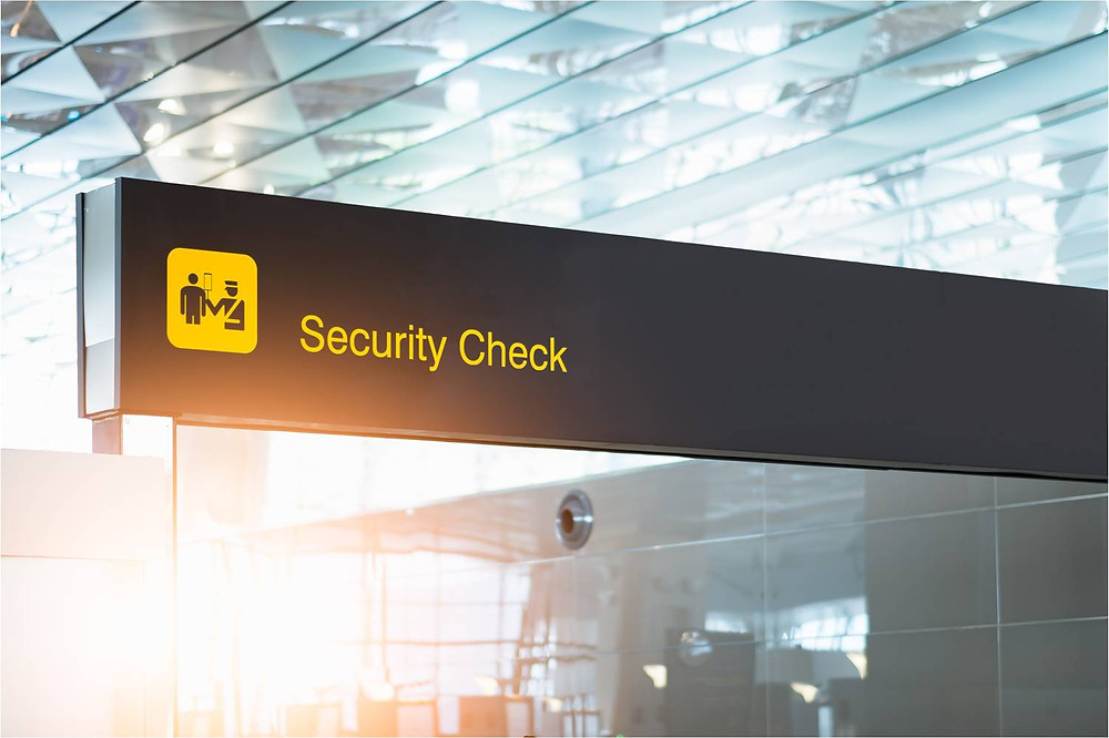 Security Checkpoint in airport