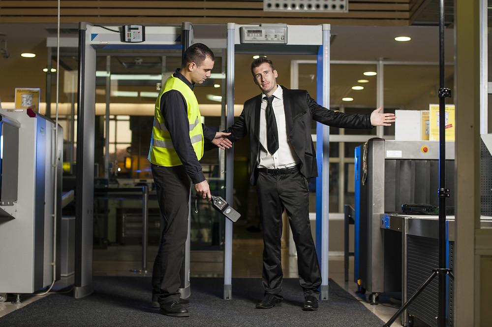 Security Screening at Airport
