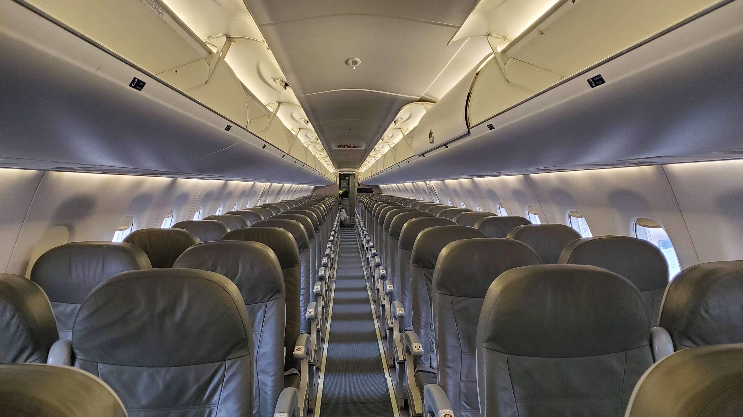 E190 Interior - Rear Facing