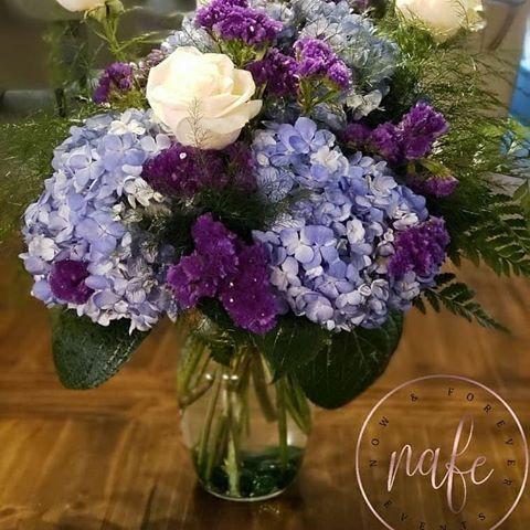 Beautiful Purple & Lilac Arragement