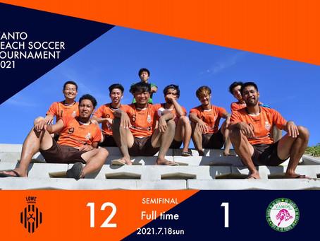 JFA第16回全日本ビーチサッカー大会関東予選2日目