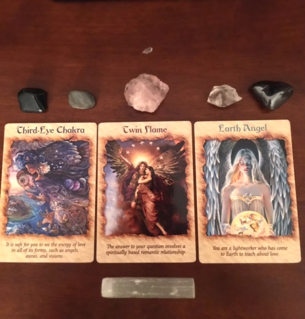 Angel Cards & Crystals