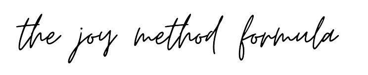 the joy method formula.JPG