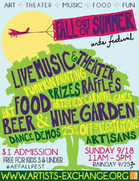 Fall out of Summer, 2016 september cranston arts festival, rhode island festival, sunday sep 18th and 25th, cranstons arts, what to do in crnaston