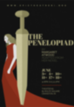 The Penelopiad at Characters Cafe and Theatre 82. Presented by Epic Theatre Group and Artists Exchagne, Play in Cranston RI