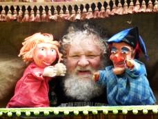 Marc Kohler and his puppets, link for website, The Dragon on Saturday , February 25th, at characters cafe, artists exchange, Theatre 82, cranston RI