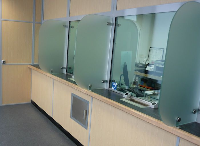 Security Counter screen