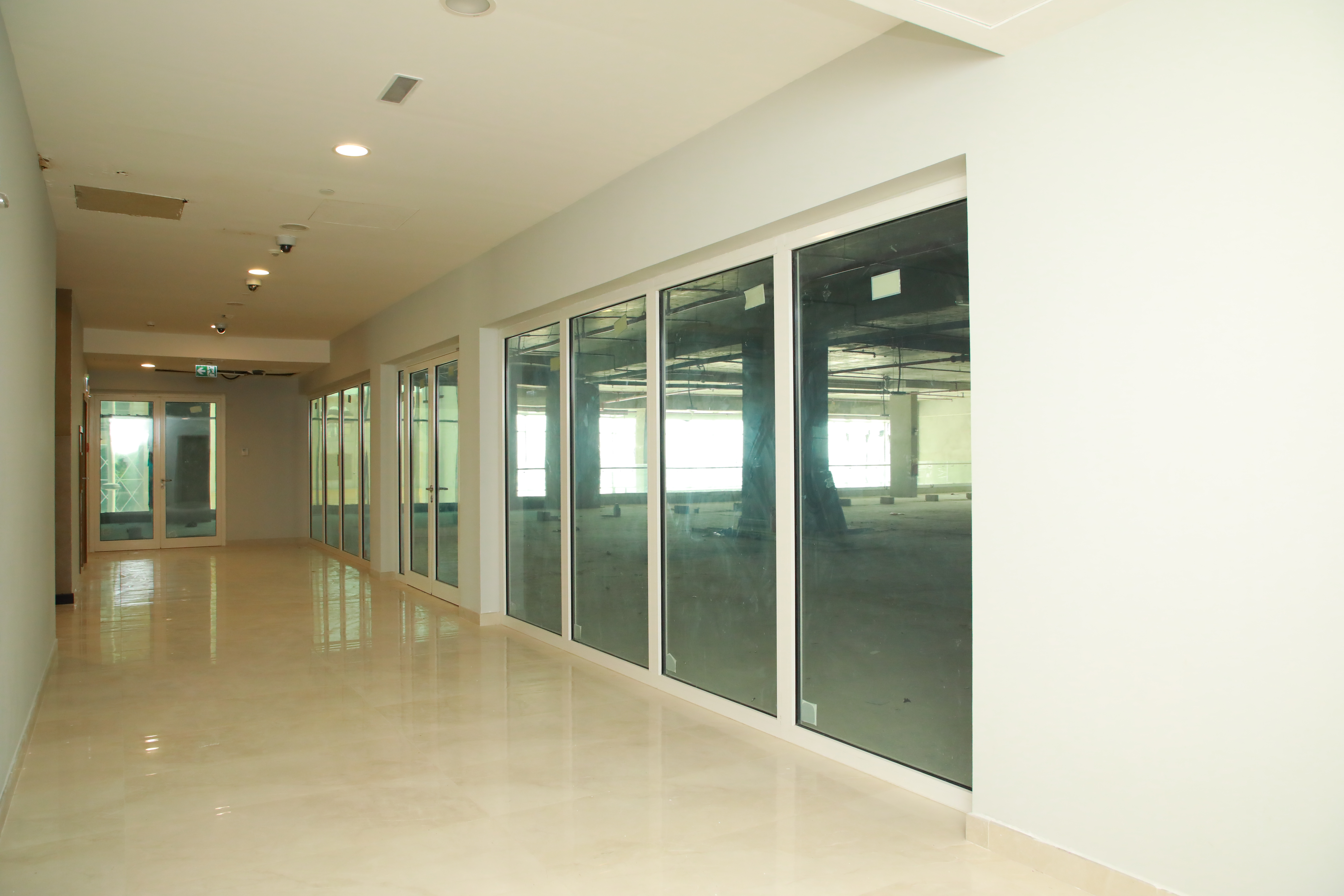 Fire Resistant Aluminium Screens