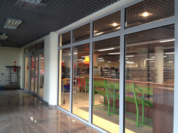 Fire Glazing Partition