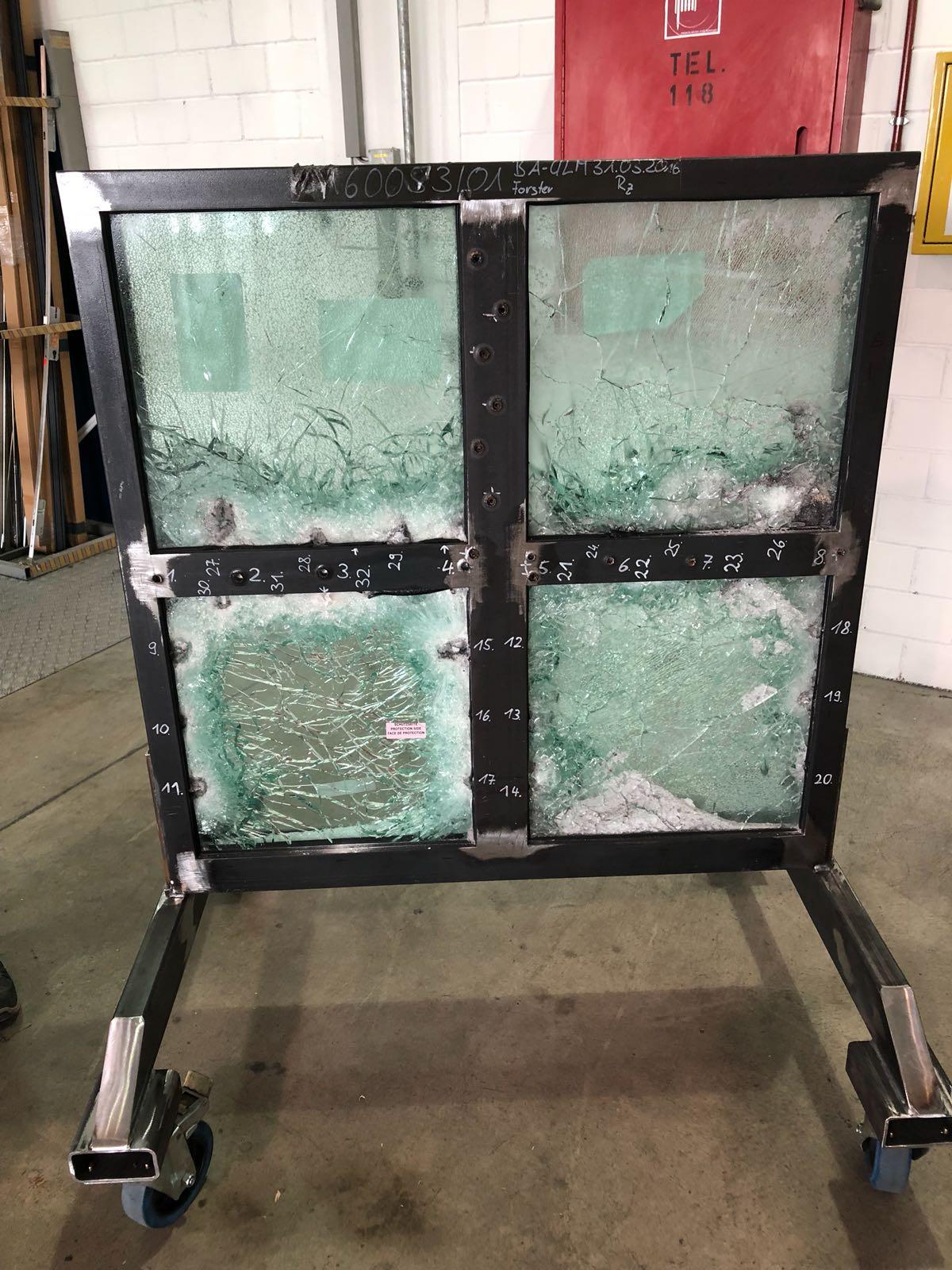 AK47 Resistant Screen