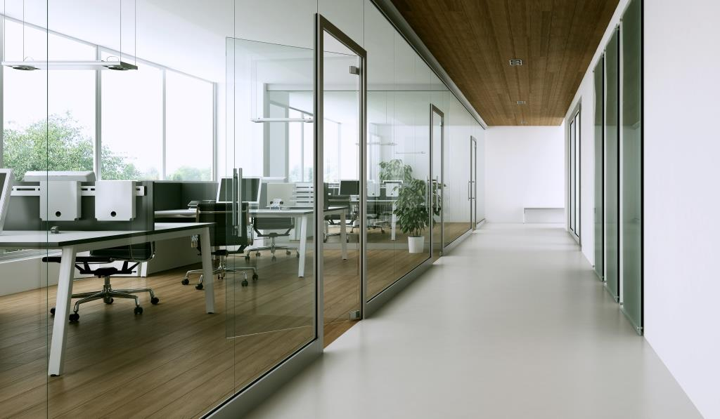 Office Glazing Partition