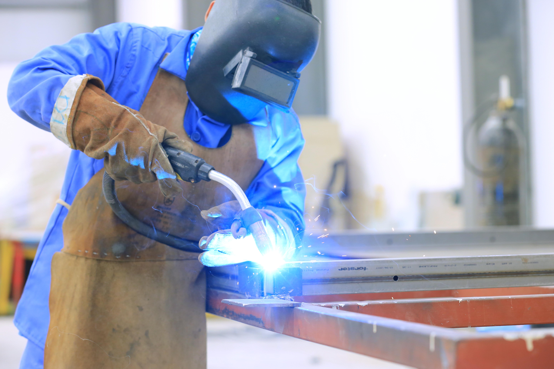 Welding Steel Fire Windows
