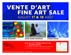 KAA Art Exhibit Aug. 2019