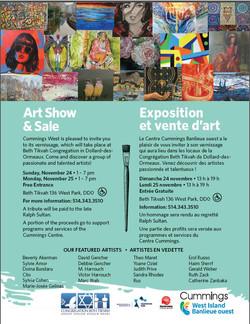 West Island Art Show Nov. 2019
