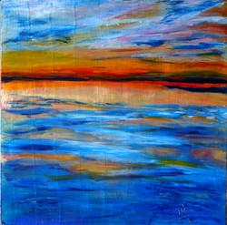 Sunrise over Lac Brome
