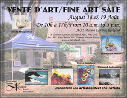KAA Art Exhibit Aug. 2018