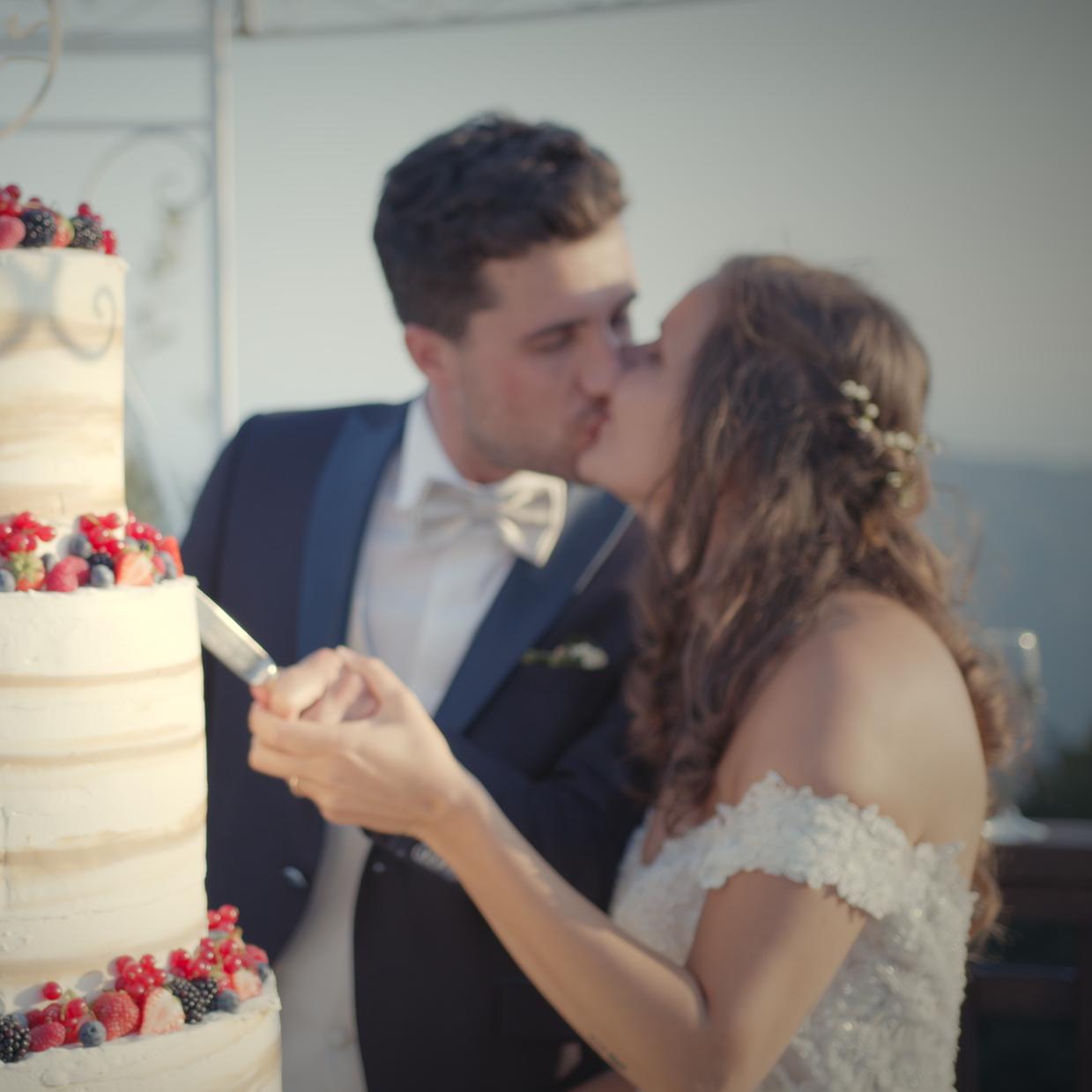 La torta di Martina e Matteo