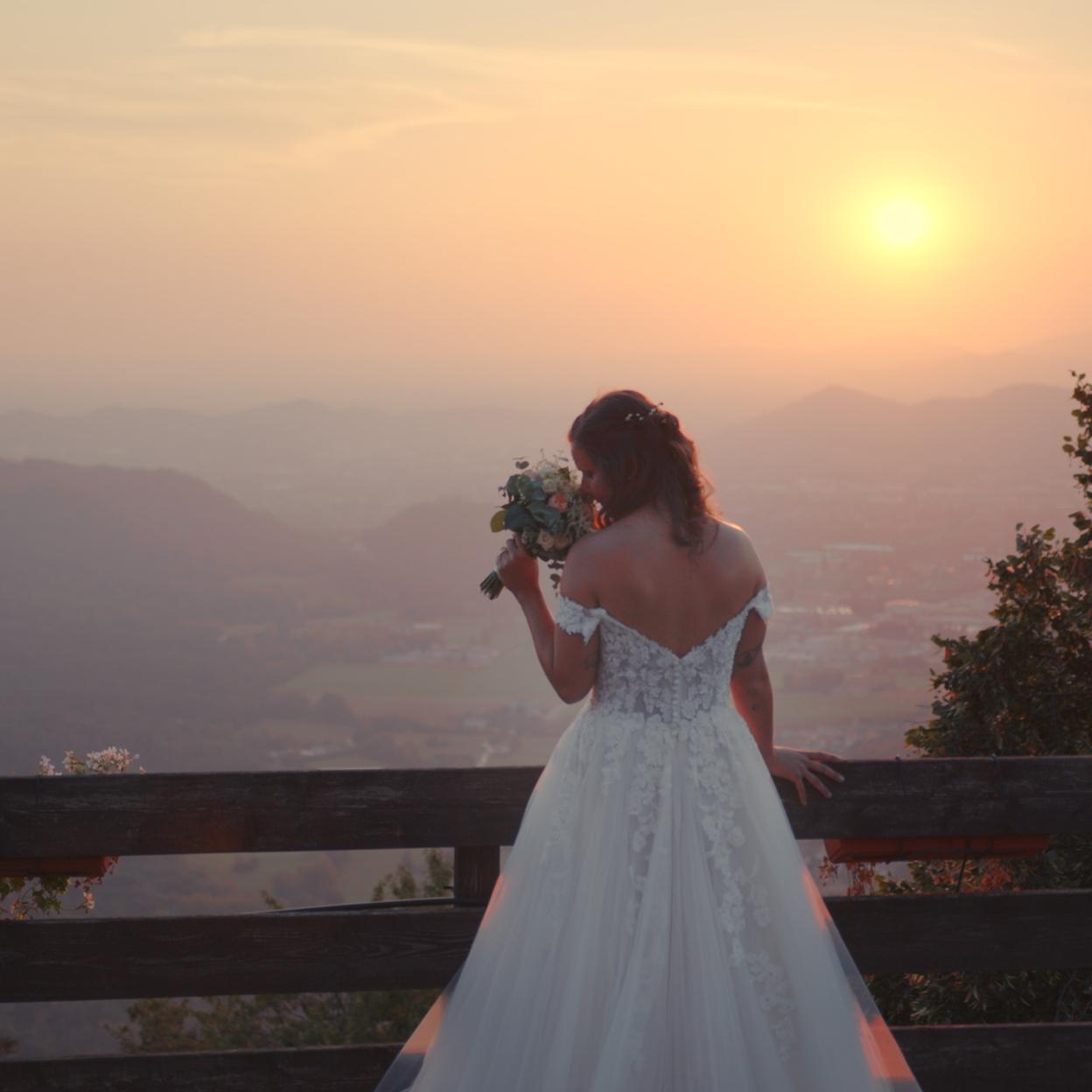 Martina al tramonto