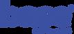 logotipo base fel azul