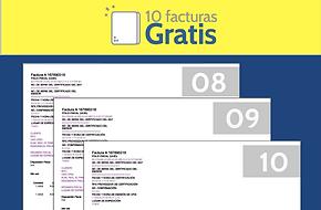 En FEL Facturación Electronica recibe 10 facturas totalmente gratis al registrarte
