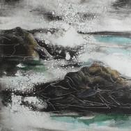 Pounding Seas, monotype