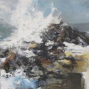 Crashing seas, Cardigan Bay