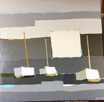 Acrylique sur toile 80x80cm